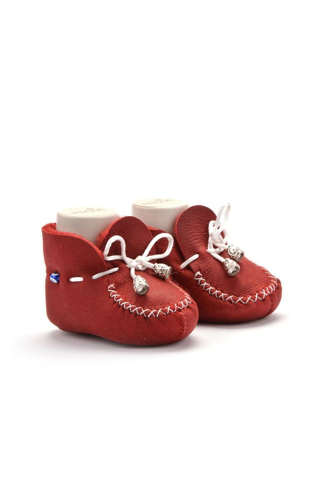 ad85d4828e055c Pegia Laced Kids Booties From Genuine Fur  fashion  clothing  shoes   accessories