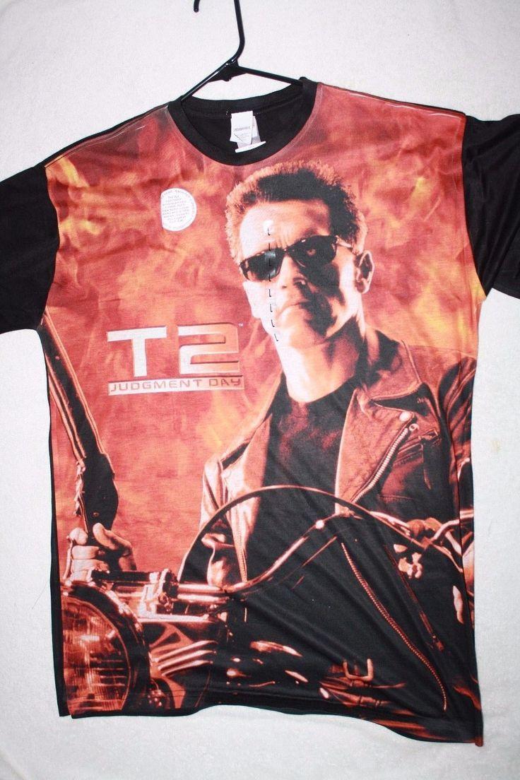 Terminator 2 T2 Judgement Day Licensed T Shirt S - 2Xl 100% Polyester New - http://bestsellerlist.co.uk/terminator-2-t2-judgement-day-licensed-t-shirt-s-2xl-100-polyester-new/