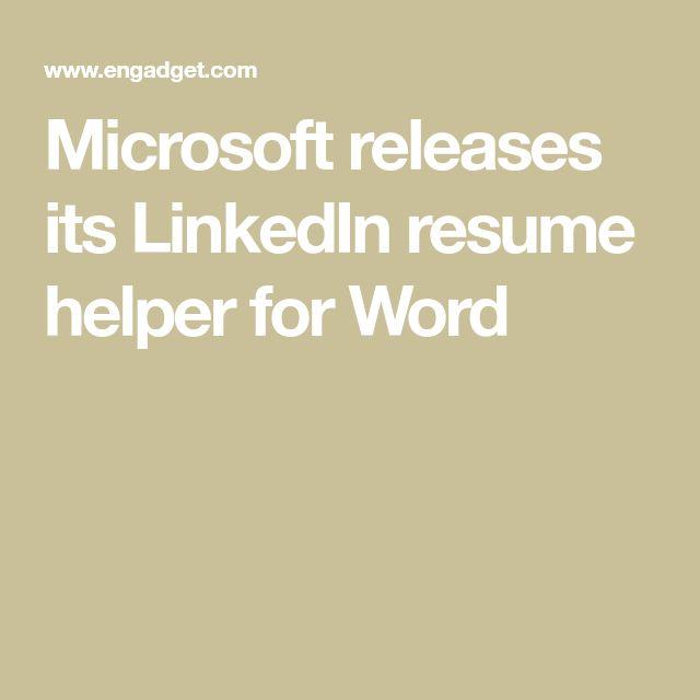 Best  Resume Helper Ideas On   Cv Format For Job Cv