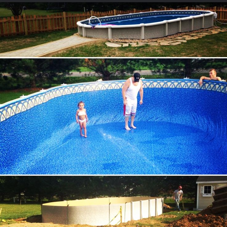 20 Best Simi Submerged Above Ground Pools Images On