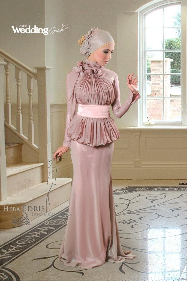pink hijab dress 1