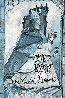 "RUBEN TOLEDO's ""Jane Eyre"" book cover art! Fabulous.  Love the book and the art!"