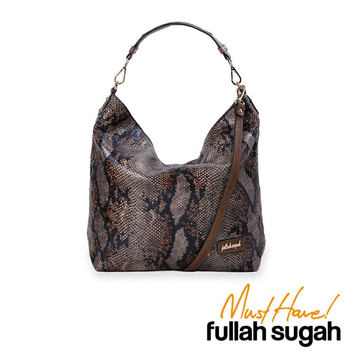 Autumn/Winter 2014 | FULLAHSUGAH SNAKE PRINT SLOUCH BAG | €46.90 | 3434103118 | http://fullahsugah.gr