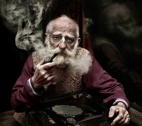 Image result for old dutch men smoking a pipe