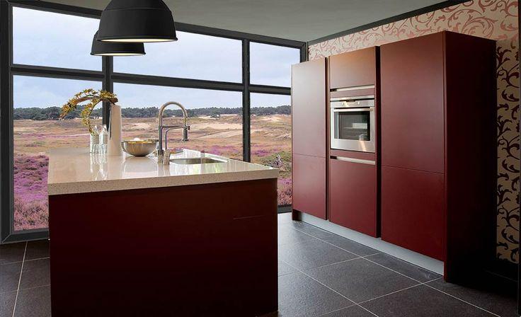 keukens rood - Google zoeken