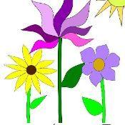 Flower Garden Applique and Embroidery De - via @Craftsy