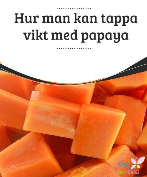 Hur man kan tappa vikt med papaya  Man har alltid sagt att papaya är en #frukt för god hälsa. Den har en söt, härlig smak och en vacker färg. Djupt inom dess ljuvliga #fruktkött finns dessutom en komponent vid namn #papain som är kapabel att tillhandahålla stora #terapeutiska
