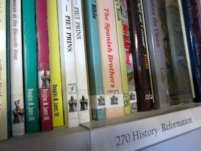dewey decimal a home library