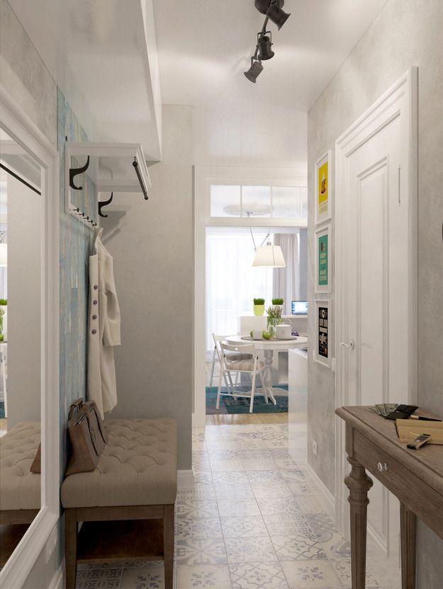 Фотография: Прихожая в стиле Скандинавский, Малогабаритная квартира, Квартира, Дома и квартиры, Проект недели, маленькие пространства, студия недели 2014 – фото на InMyRoom.ru