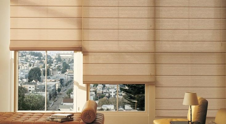 Did you know Roman Shades are suitable for any home decor?