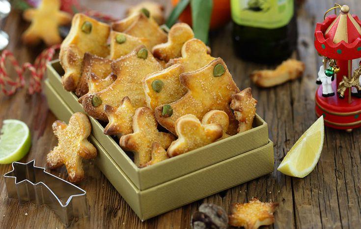 Biscuits à l'huile d'olive parfumés aux agrumes