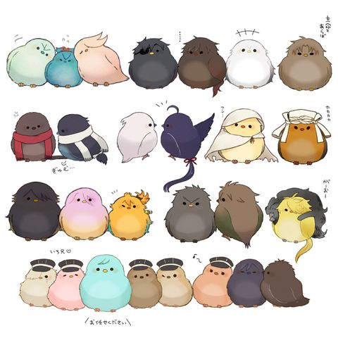 「鳥化③」/「a y u」の漫画 [pixiv]