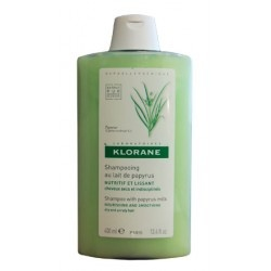 Klorane Shampoo, it will help dry, frizzy hair! And it smells amazing.