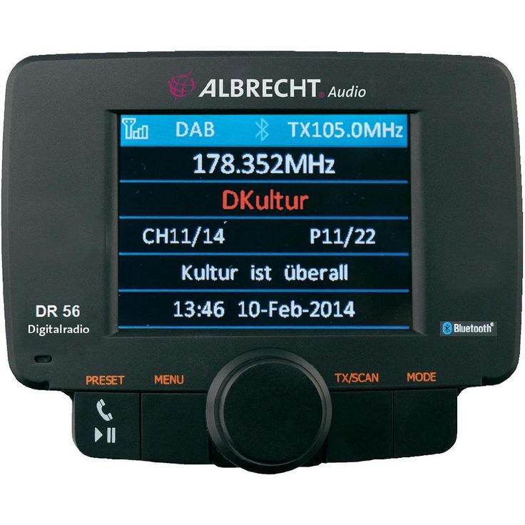 adaptateur DAB+ pour autoradio Albrecht DR-56 sur le site Internet Conrad | 1197052