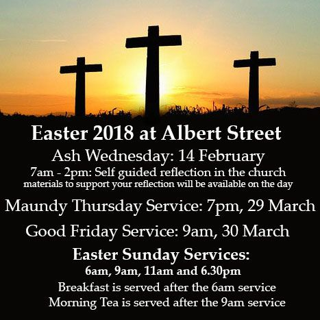 Join us for the season of Easter.
