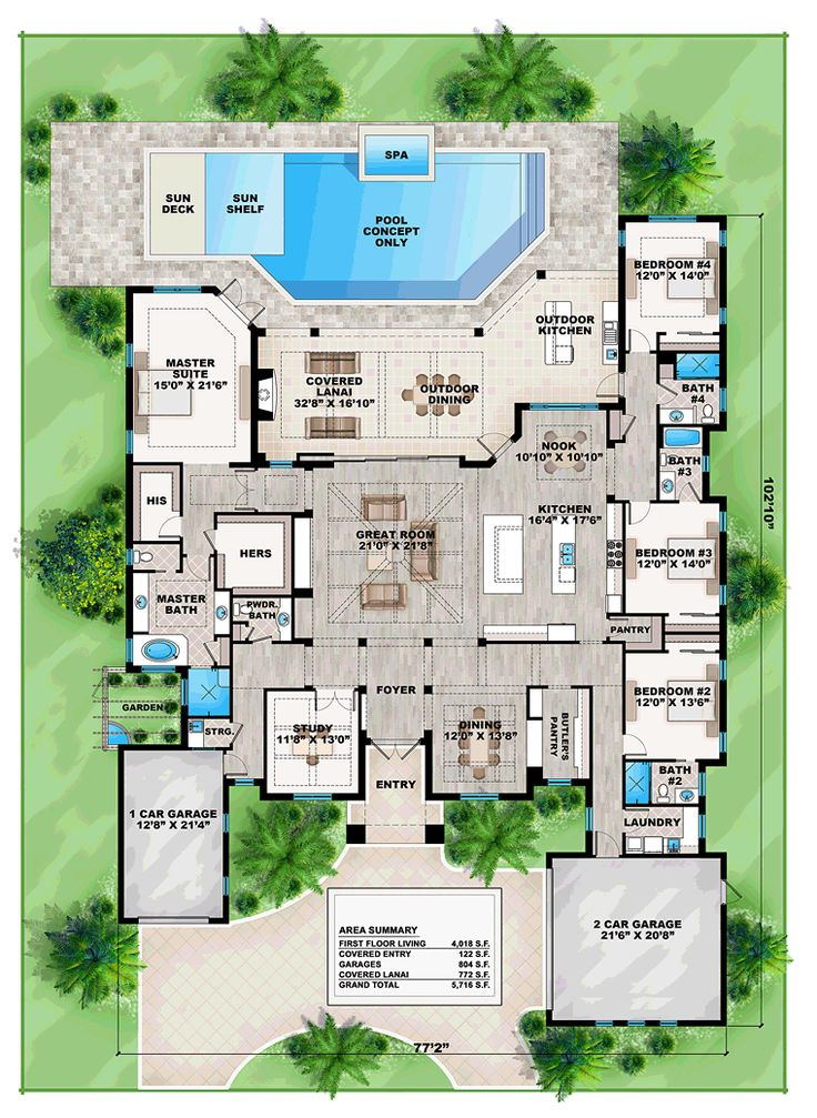 25 b sta mediterranean house plans id erna p pinterest for Florida mediterranean house plans