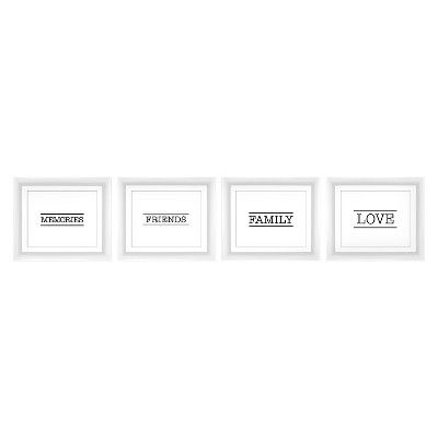 Pro Tour Memorabilia Multiple Image Frame - Black, White
