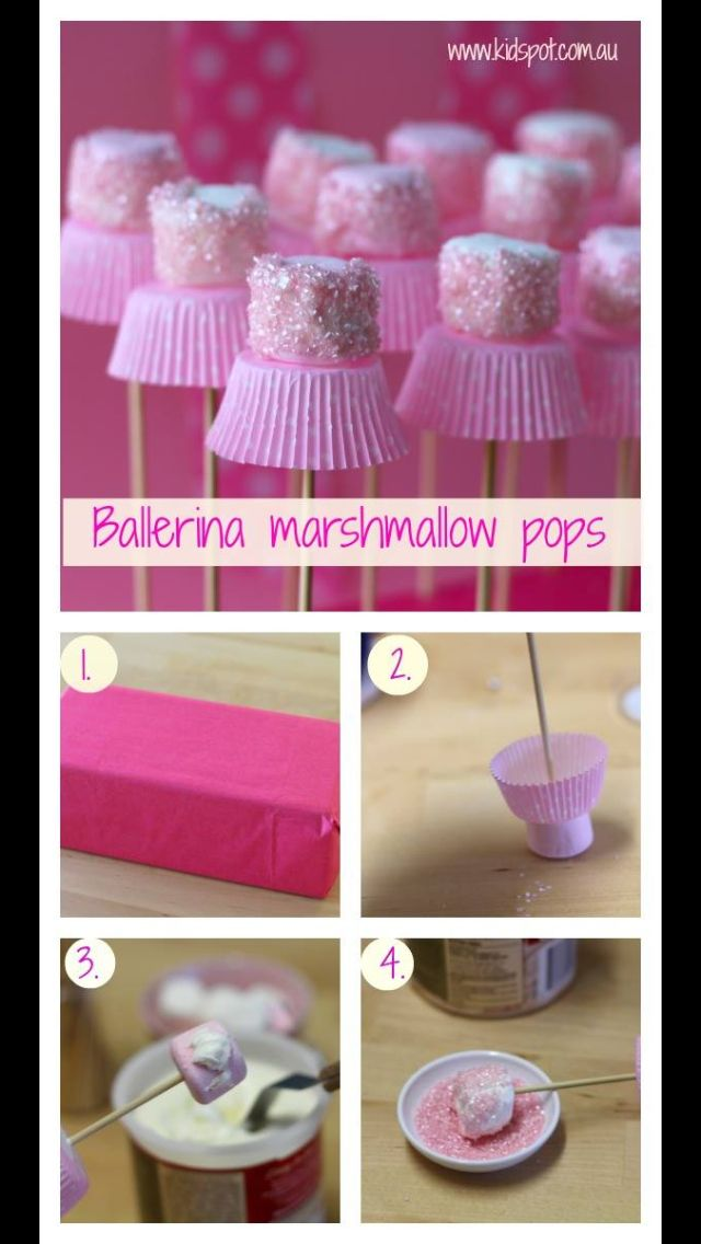 Marshmallow dancers