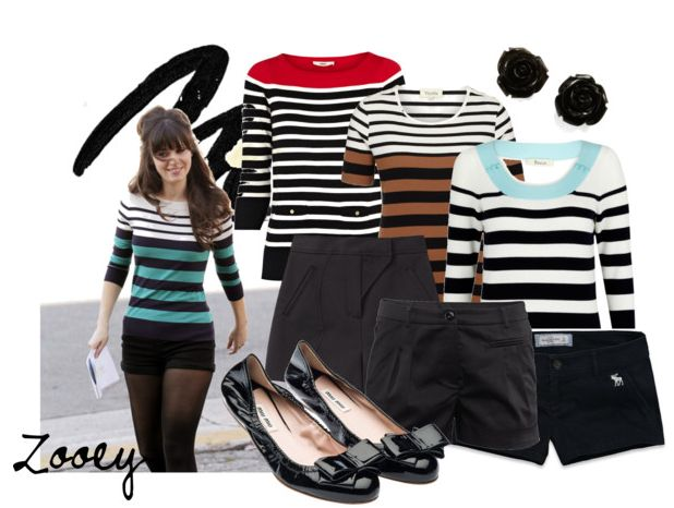 New Girl Show | New Girl Fashion | Zooey In New Girl | New Girl 2012 | Online Fashion Magazine India | Best DIY Blog India | Makeup Tutorial Site | Chic Factor Gazette