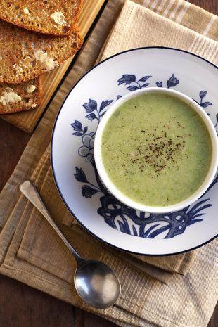 Ertjie-en-aartappelsop | SARIE | Pea and potato soup