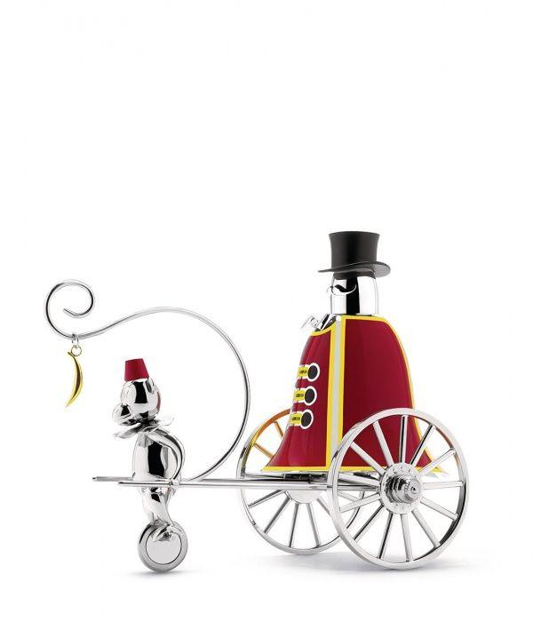 """Design contemporaneo e stile retrò ispirato all'onirica atmosfera circense: scopri """"Circus"""", la collezione in edizione limitata realizzata da Marcel Wanders per Alessi."""