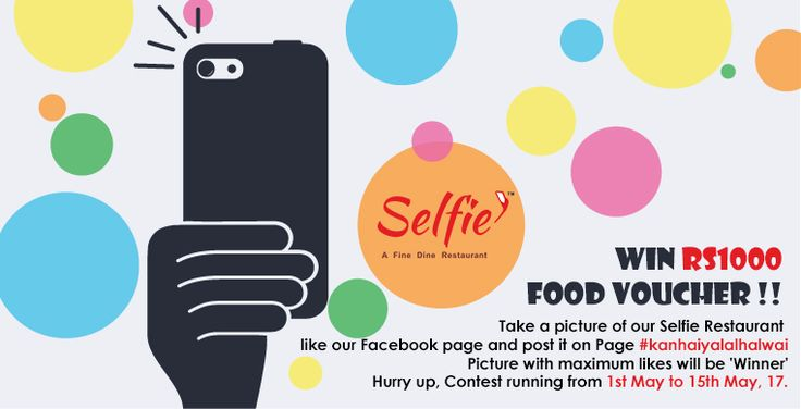 Great Offer!!! one Facebook post you can win a food voucher worth rs1000 at Selfie Restaurant. Just you have to take a picture of our restaurant, like our page and post it on our page with #SelfieRestaurant. The picture with maximum likes will be a winner. Don't miss the chance,the contest starts on may 1st 2017 and ends on 15th may 2017 #kanhaiyalalhalwai #SelfieRestaurant.#delicious #food #sweet #gulabjamun #rasgulla #jalebi #kajukatli #bengalimithai #kesarbarfi #rajbhog #rasmali…