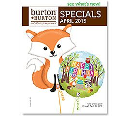 APRIL SPECIALS 2015 #burtonandburton