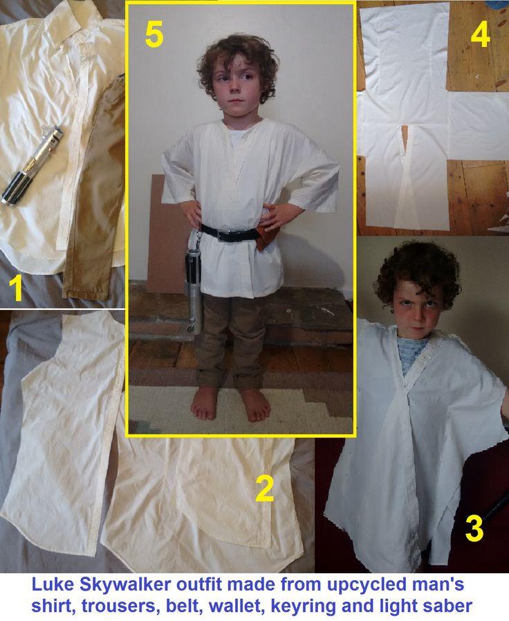 Luke Skywalker DIY costume tutorial