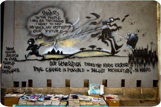 Le graffiti qui tue !! » Graffiti Kenya