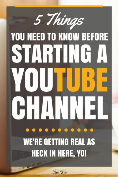 5 Things You Need to Know Before Starting a YouTube Channel! Great tips and tricks from bloggers and online business owners who are interested in video marketing