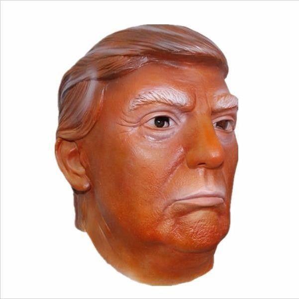 Donald Trump Costume Mask Halloween Latex Hillary Clinton Ornament Masquerade Carnival Mask