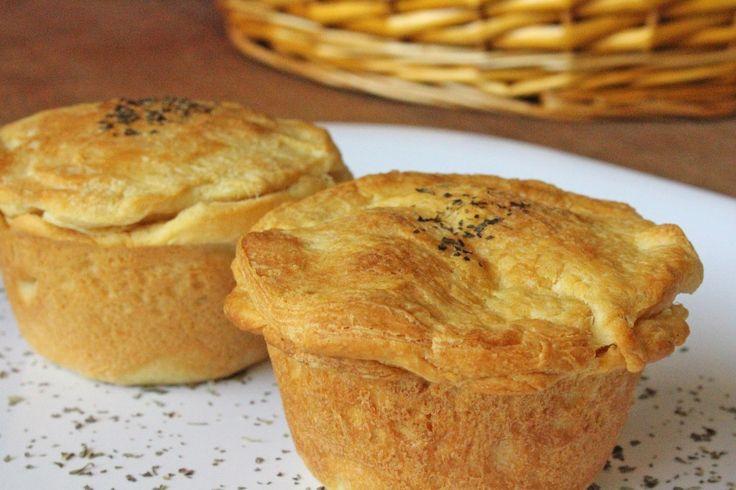 Chicken Pot Pie muffin style!