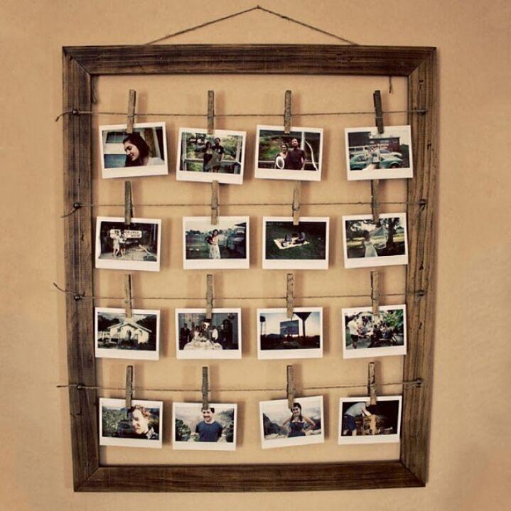 Tidak harus mahal untuk memajang foto dengan unik dan bagus. Digantung dalam frame foto seperti ini cukup unik dan lowbudget.  #upgradehomeIR (image via brightside.me)  #inspirasi #rumah #dekorasi #kreatif #unik #unique #kreasi #homedecor #homedesign #upgradehome #inspired #diy #caramembuat #percantikrumah #cozy #rumahnyaman #framephoto #frame #photo #foto by inspirasi_rumahku_ http://discoverdmci.com