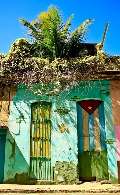 Colorful Cuban house