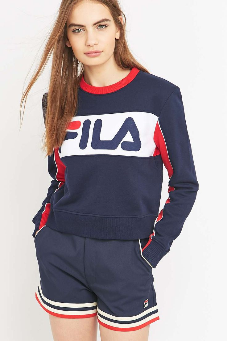 les 25 meilleures id es de la cat gorie pull fila femme sur pinterest pull fila fila sweat. Black Bedroom Furniture Sets. Home Design Ideas