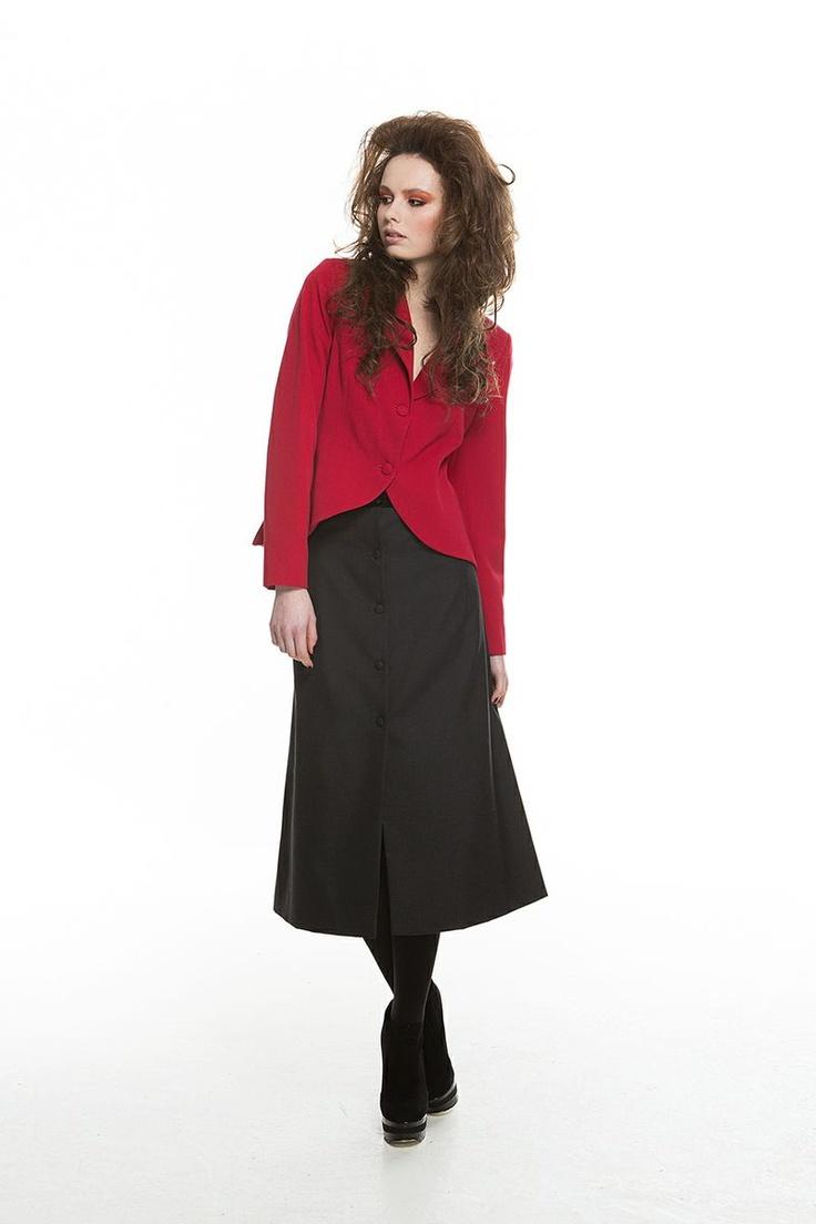 Annush Jacket, Leanne Skirt