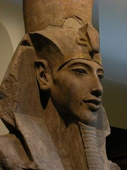 Akhenaten, the #King Tut's father