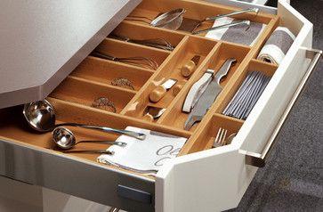 Kitchen Organization Boston Spaces - contemporary - kitchen - boston - Your German Kitchen
