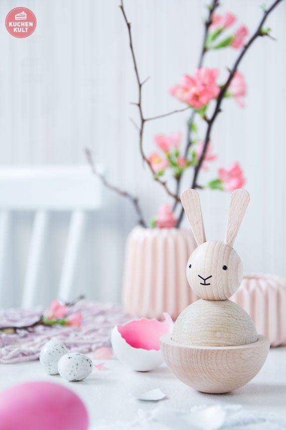 #Ostern #Tischdeko #Hase  #easter #deco #idea #rabbit