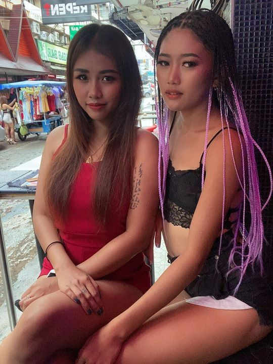 Thai girls working for NWG in Pattaya - Soi 6, Pattaya