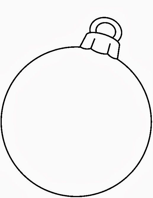 1000 Images About Clip Art Christmas Redwork On Pinterest Blank Ornament Coloring Page