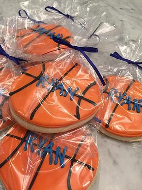 iSparkleEvents | Event Planning | Logo Design | Sweet Treats | Basketball Theme Bar Mitzvah