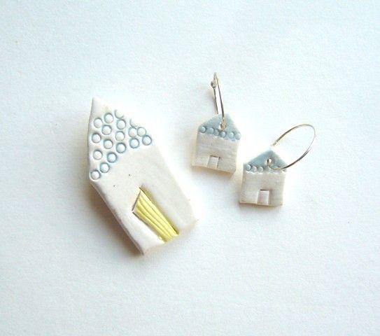 Ceramic house jewellery