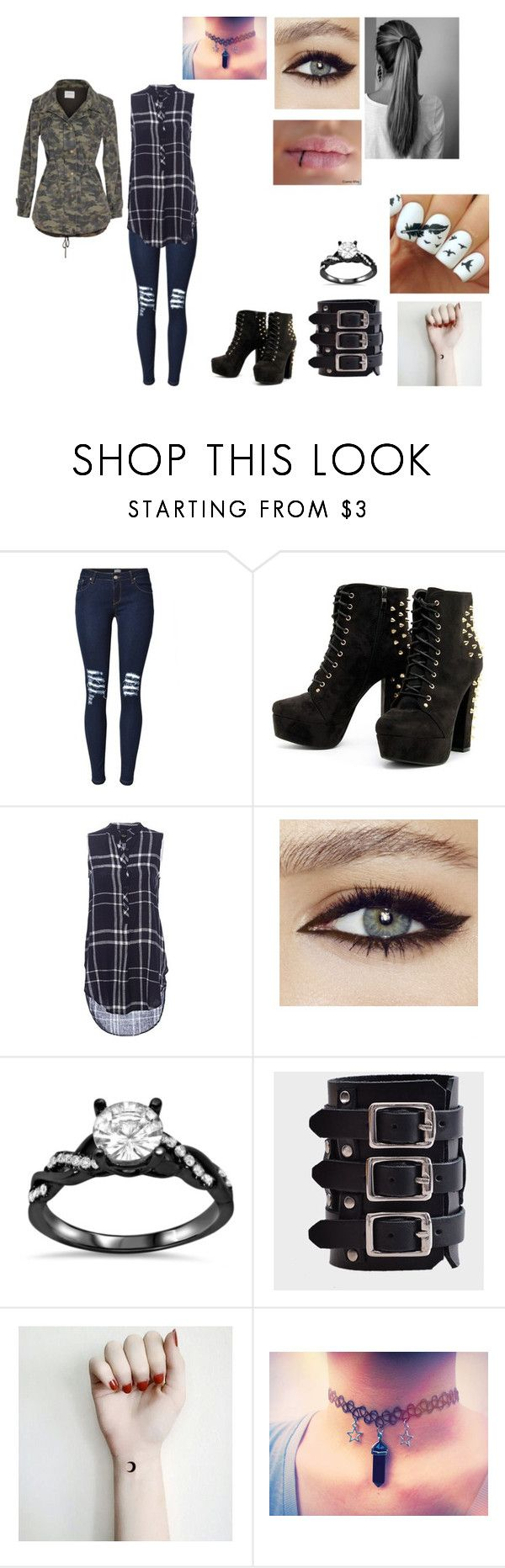 """""""Untitled #5"""" by ravenclaw102 ❤ liked on Polyvore featuring Velvet by Graham & Spencer"""