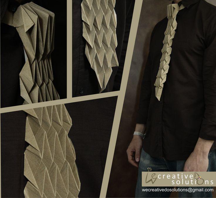 OriTie I Origami Tie I Gravata de Origami