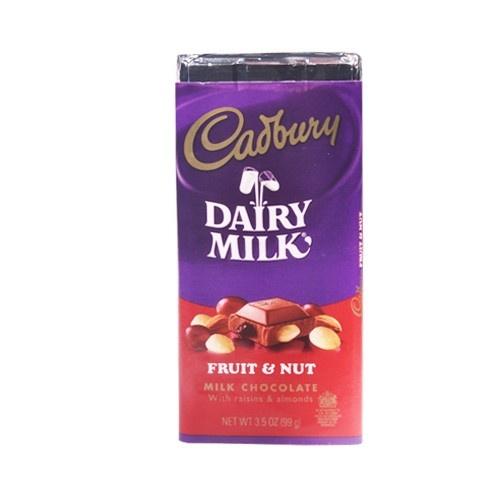 Hershey's Cadbury Fruit and Nut Bar