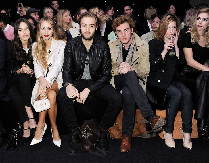Front Row Celebrities International Fashion Week 2013