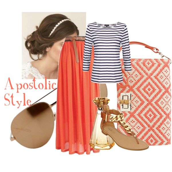 """""""Summer Style Cute N Cazh..:P Apostolic Style"""" by emmyholloway on Polyvore"""
