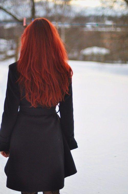I kinda miss having henna red hair.