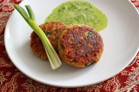Chicken Shami Kebabs by fortheloveofyum: Great hot or cold! #Chicken_Kebabs #fortheloveofyum